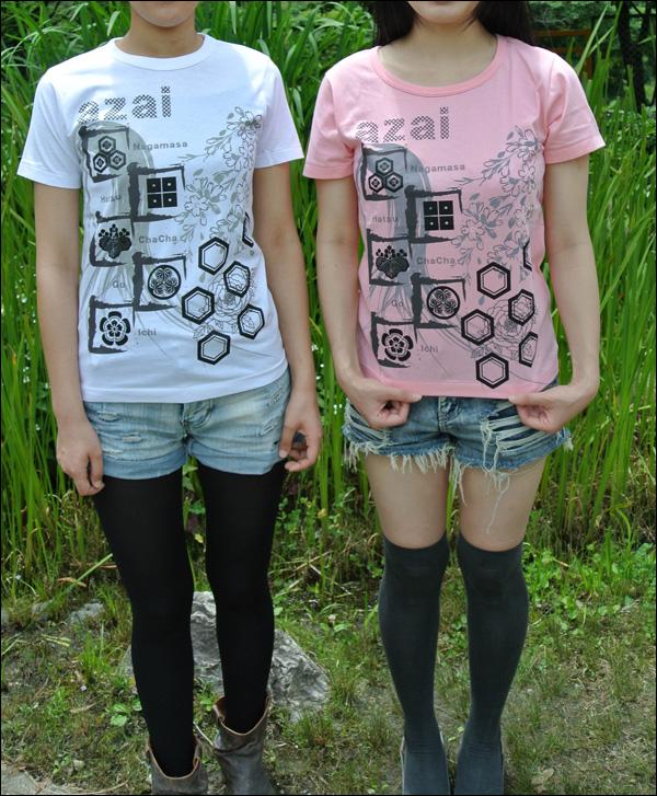 戦国武将Tシャツ【浅井家】