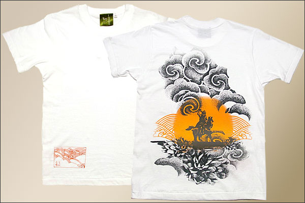 戦国Tシャツ【越後の龍・上杉謙信・第4弾】白平置き